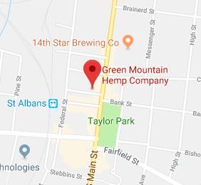 Green Mountain Hemp Company map
